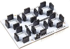 Фото 1/4 Troyka-Slot Shield, Плата расширения для подключения модулей серии Troyka к Arduino