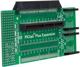 AC240100, Расширительная плата PICtail Plus, для дочерних карт PICtail и макетных плат Explorer 16/32