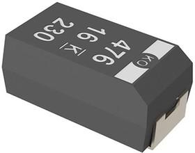 T520V686M010ATE025, Cap Tant Polymer 68uF 10VDC V CASE 20% (7.3 X 4.3 X 1.8mm) SMD 7343-19 0.025 Ohm 105°C T/R