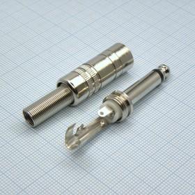 TS 6.3 (jack) 2304 металл, Моно штырь
