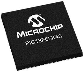 PIC18F66K40-I/MR, MCU 8-bit PIC18 PIC RISC 64KB Flash 3.3V 64-Pin QFN EP Tube