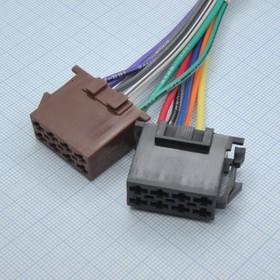 Разъем EURO 2х8(розетка) а/магн.