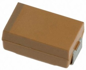 TAJD106K025RNJ, Cap Tant Solid 10uF 25V D CASE 10% (7.3 X 4.3 X 2.9mm) Inward L SMD 7343-31 1.2 Ohm 125C T/R