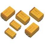 Фото 5/5 TPSC106K025R0500, Cap Tant Solid 10uF 25V C CASE 10% (6 X 3.2 X 2.6mm) Inward L SMD 6032-28 0.5 Ohm 125°C T/R