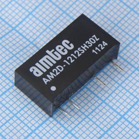 AM2D-1212SH30Z (DC-DC в пл.2Вт вх.10.8:13.2В, вых.12В/167мА)