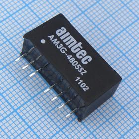 AM3G-4805SZ (DC-DC в пл.3Вт вх.36:72В, вых.5В/600мА)
