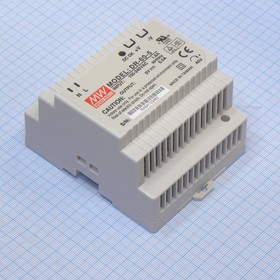 DR-60-5, AC-DC Din, 60Вт, выход 5В/0:6.5A, рег. вых