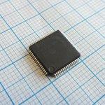 Фото 2/3 LPC2138FBD64/01.151, Микроконтроллер 16/32-Бит, ARM7TDMI-S, 60МГц, 512КБ Flash, 10-Бит АЦП и ЦАП [LQFP-64]