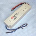 Фото 2/2 LPV-100-12, AC/DC LED, 12В,8.5А,102Вт,IP67 блок питания для светодиодного освещения