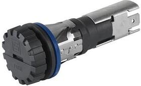 0031.9156, Shock-Safe Fuse Holder, 5 x 20 / 6.3 x 32 mm, Slotted Cap