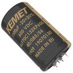 Фото 2/2 ALF70G912KP200, Электролитический конденсатор, 9100 мкФ, 200 В, ALF70 Series, ± 20%, Прессовая Посадка
