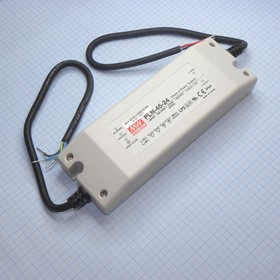 PLN-45-24, AC-DC led, 46Вт, выход 24В/1.9А