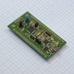 Фото 2/2 STM32VLDISCOVERY, Отладочная плата на базе MCU STM32F100RBT6B (ARM Cortex-M3), ST-LINK