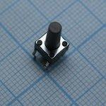 Фото 2/2 TS66N (SDTX-660-N), Переключатель тактовый h=13 мм