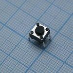 Фото 2/2 DTS-62N-V, кнопка тактовая 6x6 H-5 160gf с заземлением