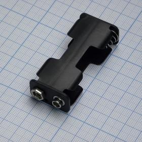 Держ.батарей ZH287(2*АА верт.)