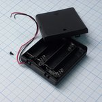 Держ.батарей ZH296(4*АА с крыш.)