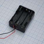 Держ.батарей ZH298(6*АА) с пров
