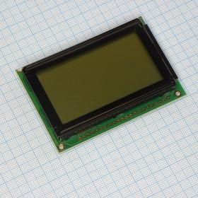 WG12864B-CFH-T#N, ЖКИ графич, 128х64, подсв. 3х-цветн RGB, , 6 o'cl