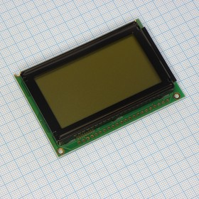 WG12864B-CFK-T#N (ЖКИ графич, 128х64, подсв. 3х-цветн RGB, , 12 o'cl)