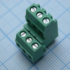 DG381A-3.81-06P-14-00AH, зелёный
