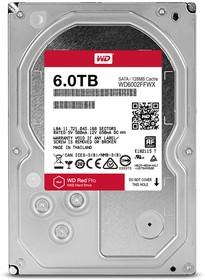 "WD6002FFWX, Жесткий диск WD Red™ Pro WD6002FFWX 6000ГБ 3,5"" 7200RPM 128MB (SATA-III) NAS"