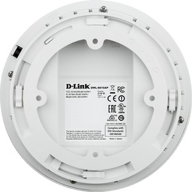 Фото 1/2 DWL-6610AP/RU/A1A/PC, 802.11AC 2.4/5 Ghz Wireless Access Point with built-in Gigabit PoE