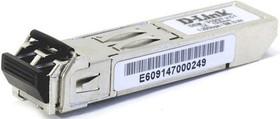 DEM-310GT/G1A, 1-port mini-GBIC LX Single-mode Fiber Transceiver (up to 10km, support 3.3V powe