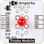 Фото 2/3 Troyka-Red 5mm Led, Красный светодиод 5мм для Arduino проектов