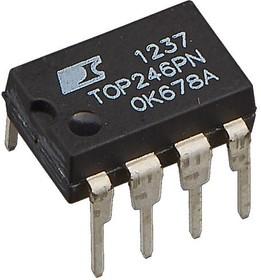 TOP246PN, ШИМ контроллер 21-34Вт 132кГц 700В DIP8-300
