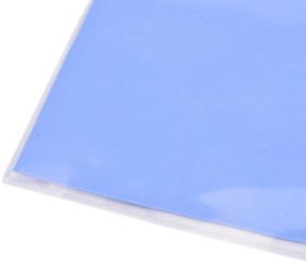 Теплопроводный голубой материал 1,5 х 50 х 50 мм 86/300 Вт/(м К) 3,0