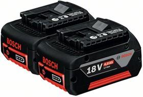 1600Z00042 Аккумулятор Li-Ion2 x 18 В; 4,0 Ач, Набор аккумуляторных батарей Li Ion