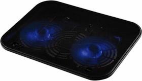 """Подставка для ноутбука Buro BU-LCP140-B214H 14""""338x255x22мм 1xUSB 2x 140ммFAN 480г металлическая сет"""