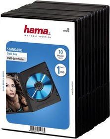 Коробка HAMA H-51276 Jewel Case, 10 [00051276]