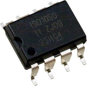 ISO1050DUBR, Изолированный приемопередатчик интерфейса CAN [SOP-8]