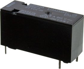 G6RN124DC, 1 Form C 250В/8А 24В28.8х15.3х10.5мм