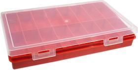 К2816, коробка-органайзер, 280х185х40мм, 16 ячеек, прямоуг.