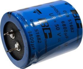 MAL205851682E3, 6800uF 50V 35x40mm 105 C 5000h