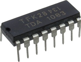 TDA1083, AM/FM усилитель DIP16
