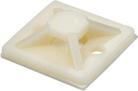 07-2030, Площадка под хомут 30 мм х 30 мм, упаковка 100шт.,белая