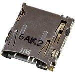 DM3AT-SF-PEJM5, разъем для microSD карты памяти угл.8к.1.1мм SMT