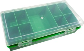 К2409, коробка-органайзер, 240х130х50мм, 9 ячеек, прямоуг.