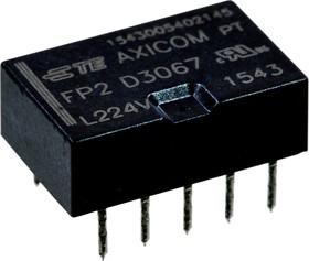 5-1462033-6, D3067, реле 2 Form C 24В 2А/250В