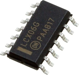 MC74LCX06DR2G, ИС логики 6xНЕ Vin 2.3-3.6В SOIC-14