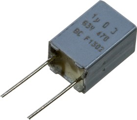 MKT470 1Ф 63В 5% шаг 5мм BFC247076105, 222247076105