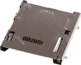 DM1AA-SF-PEJ(82), разъем для SD карты памяти угл.9конт. 2.5мм SMT