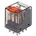 Фото 2/2 1-1393154-2 (PT570024), Реле 4-Form-C, 4PDT, 4CO 24VDC/6A(240VA) моностабильное