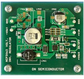 NCP3063SMINVGEVB, 5V TO -12V INVERTING CONVERTER DFN BOARD