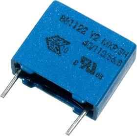 B81122C1222M4, конд. Y2 2,2нФ 250В 20% шаг 15мм MKP