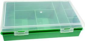 К2808, коробка-органайзер, 280х185х50мм, 8 ячеек, прямоуг.